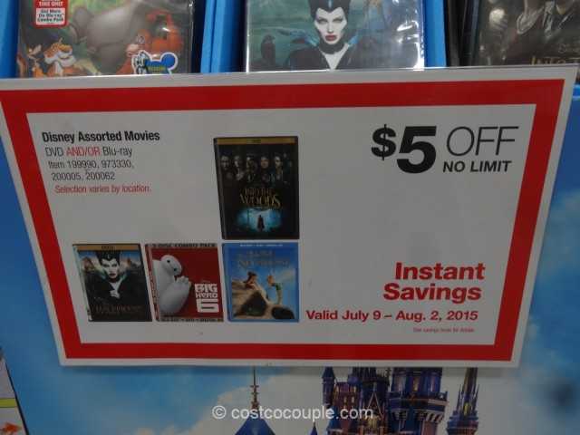 Disney Assorted DVDs Costco 1