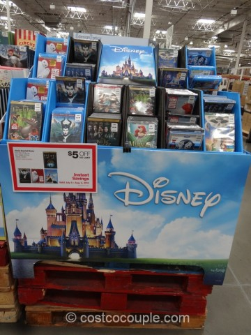 Disney Assorted DVDs Costco 2