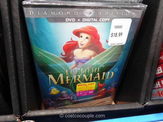Disney Assorted DVDs Costco 7