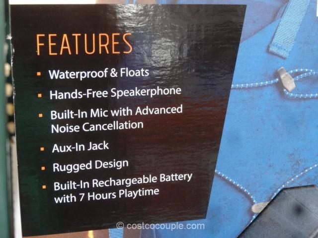 EcoPebble Waterproof Bluetooth Speaker Costco 3