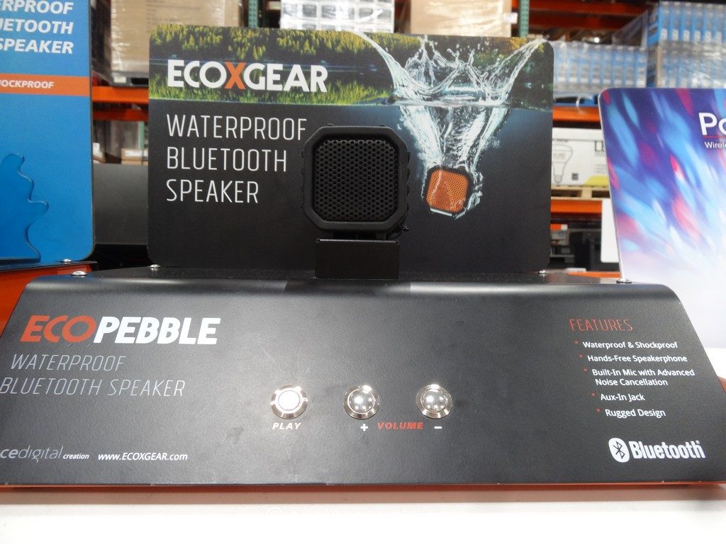 EcoPebble Waterproof Bluetooth Speaker Costco 5