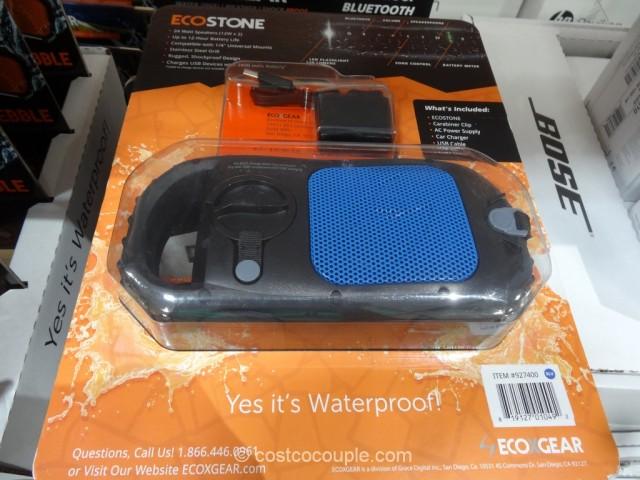 EcoStone Waterproof Bluetooth Speaker Costco 5