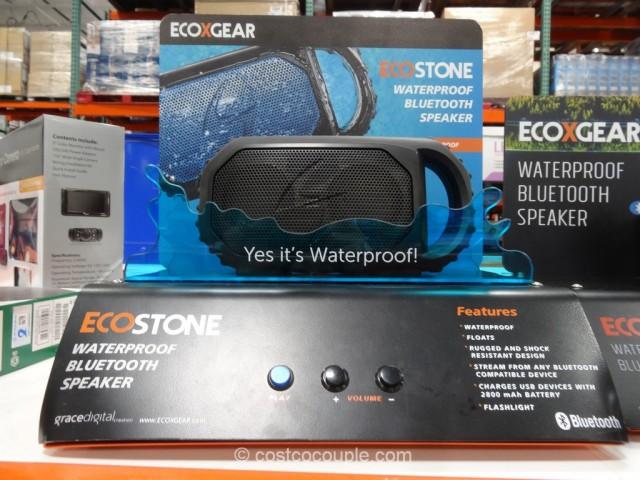 EcoStone Waterproof Bluetooth Speaker Costco 6