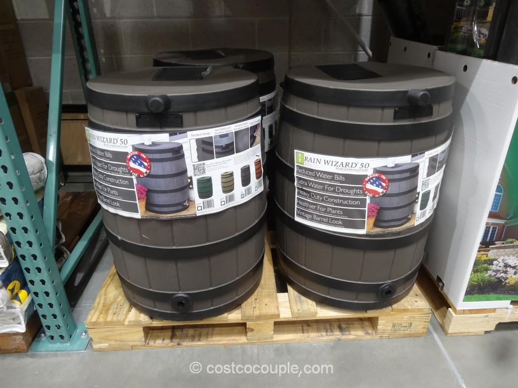 Good Ideas 50 Gallon Rain Barrel Costco 2