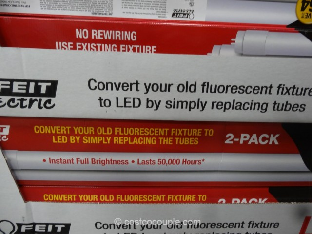 LED 4 Ft Tubes Costco 4
