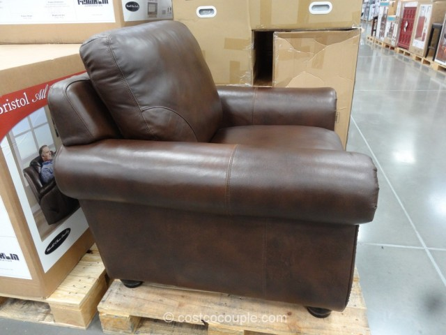 Superb Marks And Cohen Savoy Leather Chair Costco 3 ...