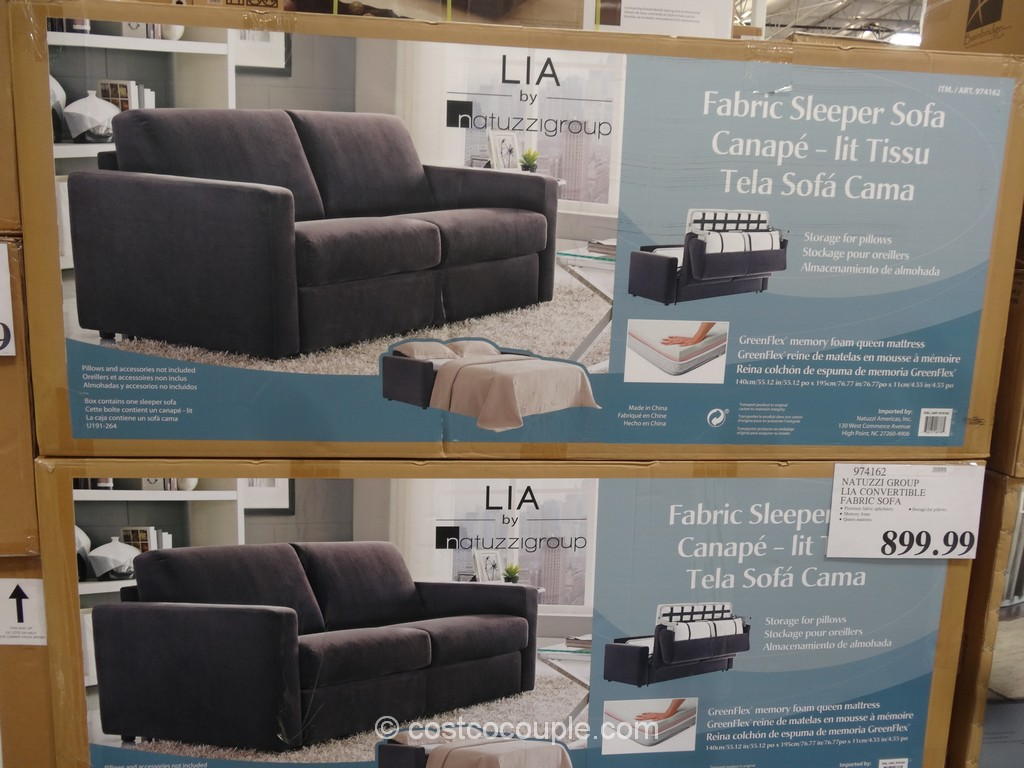 Natuzzi Group Lia Convertible Sofa Costco 3