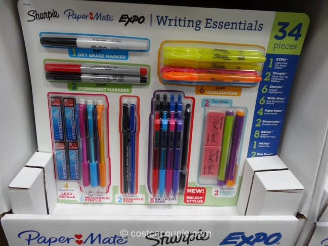 Papermate Writing Essentials Set Costco 1