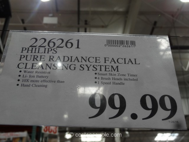 Philips Pure Radiance Facial Cleaning System Costco 1