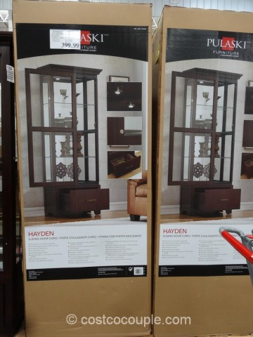Pulaski Furniture Hayden Curio Cabinet Costco 3