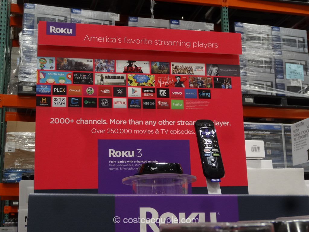 Roku 3 Streaming Player Model# 4230X Costco 2