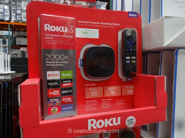 Roku 3 Streaming Player Model# 4230X Costco 3