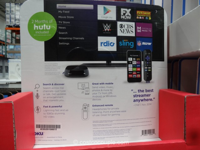 Roku 3 Streaming Player Model 4230x