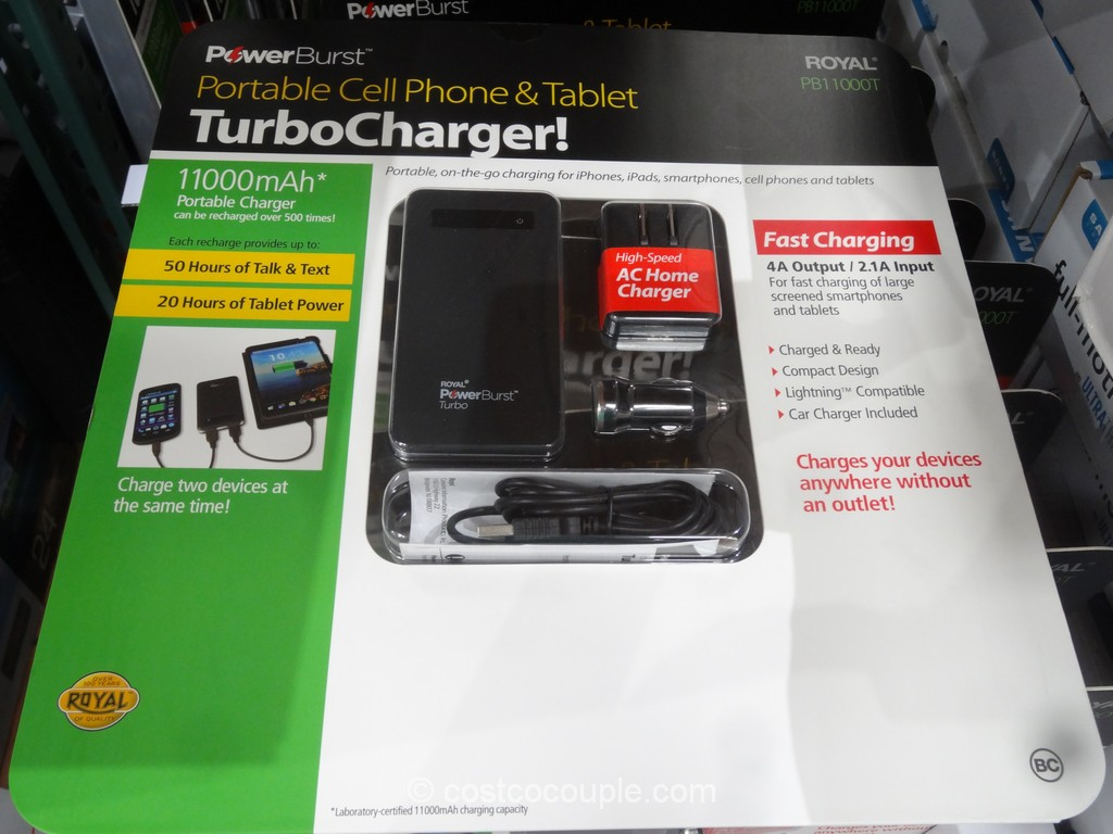 Royal Cell Phone And Tablet Portable Charger Costco 2