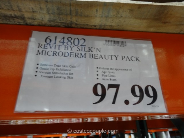 Silkn Revit Microderm Beauty Pack Costco 1