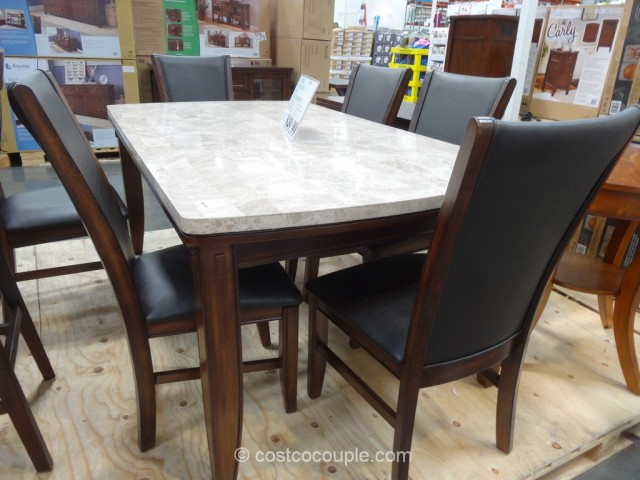 Steve Silver Ava Dining Set Costco 1