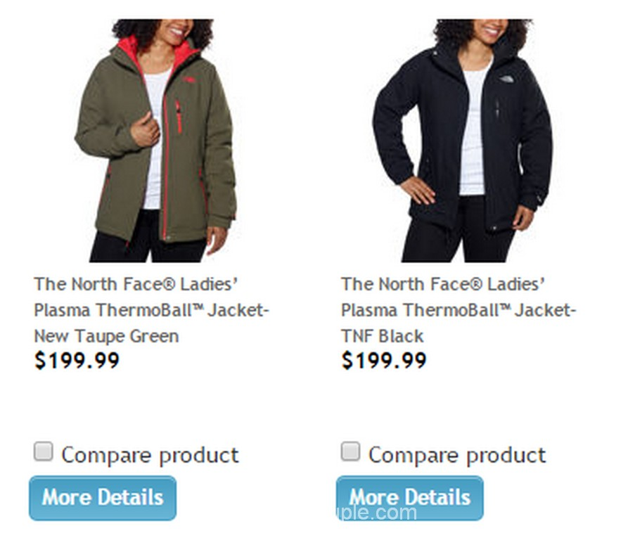 The North Face Ladies Plasma Thermoball Jacket Costco