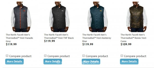 The North Face Mens Thermoball Vest Costco