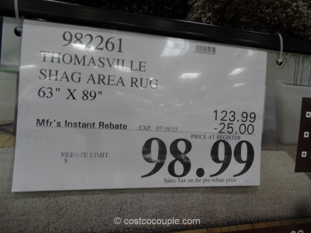 Thomasville Shag Rug Costco 1 ...
