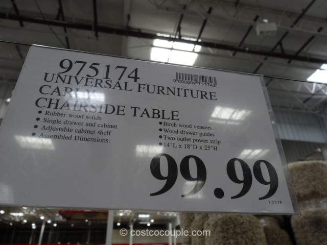 Universal Furniture Carly Chairside Table Costco 1