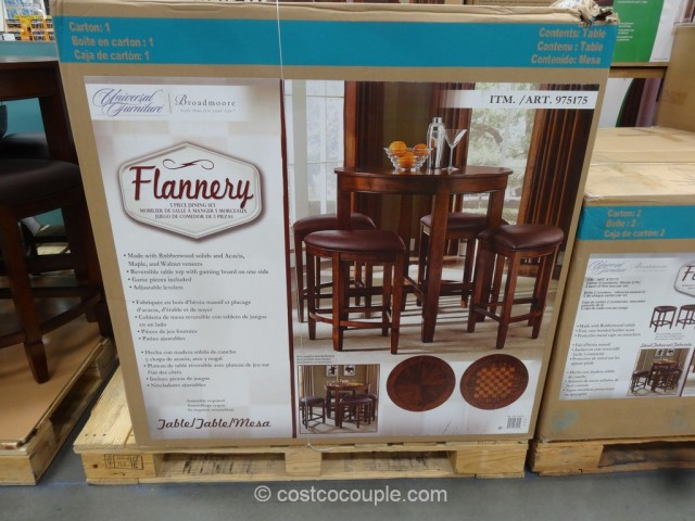 Universal Furniture Flannery Dining Set Costco 7