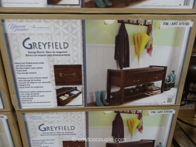 Universal Furniture Greyfield Storage Bench Costco 2