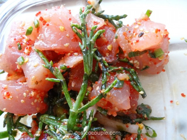 Albacore Poke With Sea Asparagus Costco 3