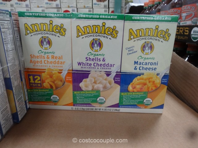 Annies Organic Mac and Cheese Costco 2