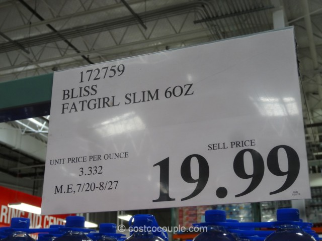 Bliss Fatgirl Slim Costco 1