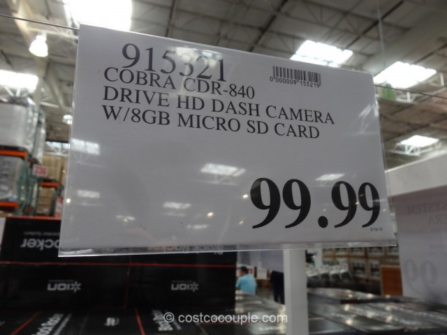 Cobra Drive HD Dash Camera Costco 1
