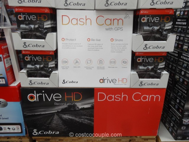 Cobra Drive HD Dash Camera Costco 3