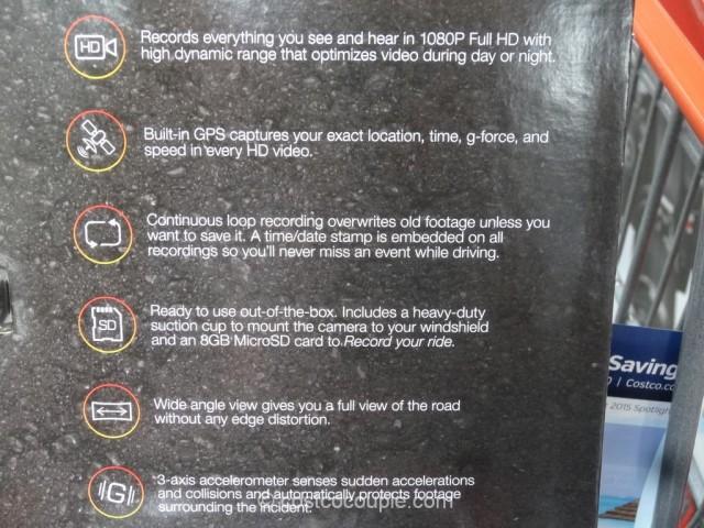 Cobra Drive HD Dash Camera Costco 6