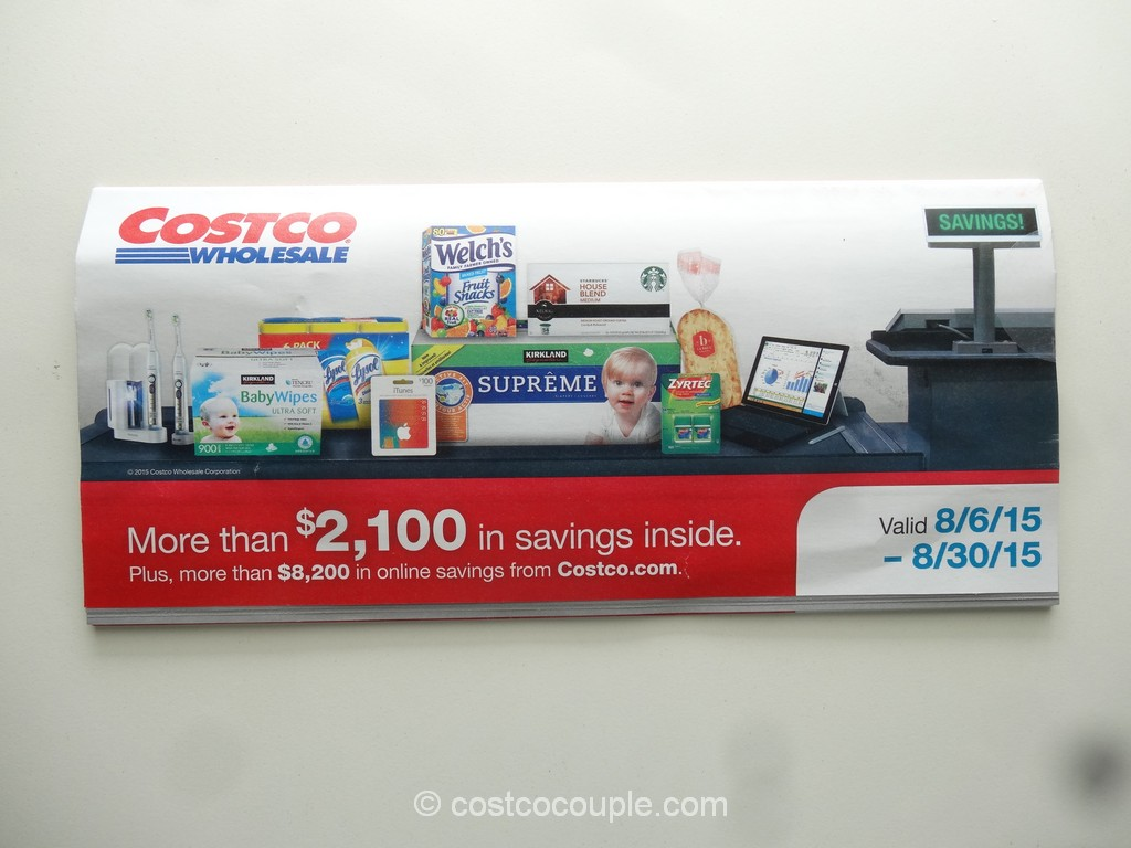 Costco August 2015 Coupon Book 1