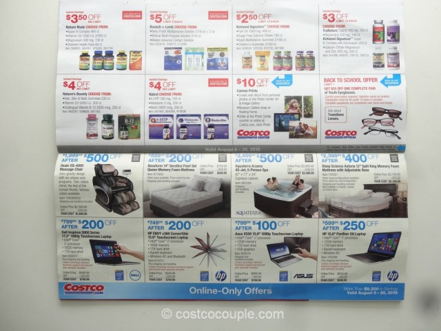 Costco August 2015 Coupon Book 10