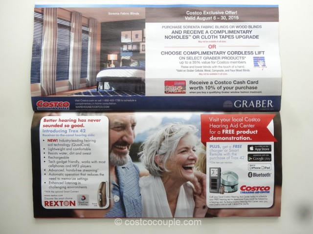 Costco August 2015 Coupon Book 12