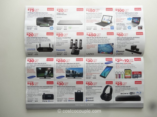 Costco August 2015 Coupon Book 3