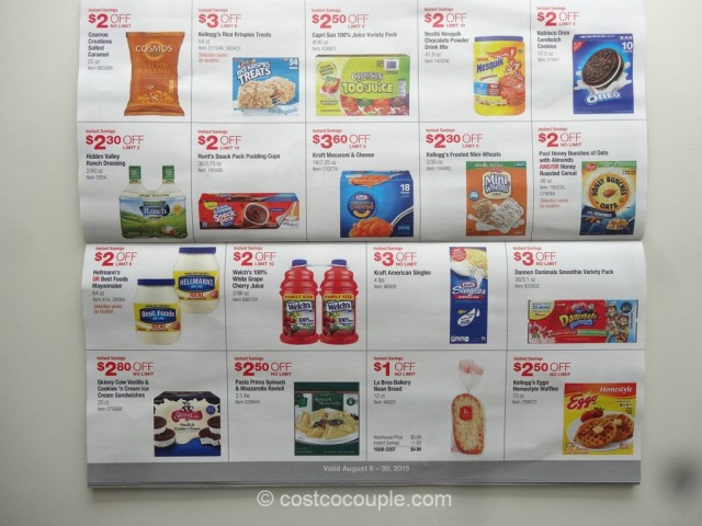 Costco August 2015 Coupon Book 5
