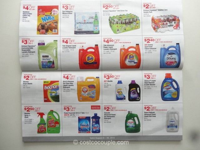 Costco August 2015 Coupon Book 7