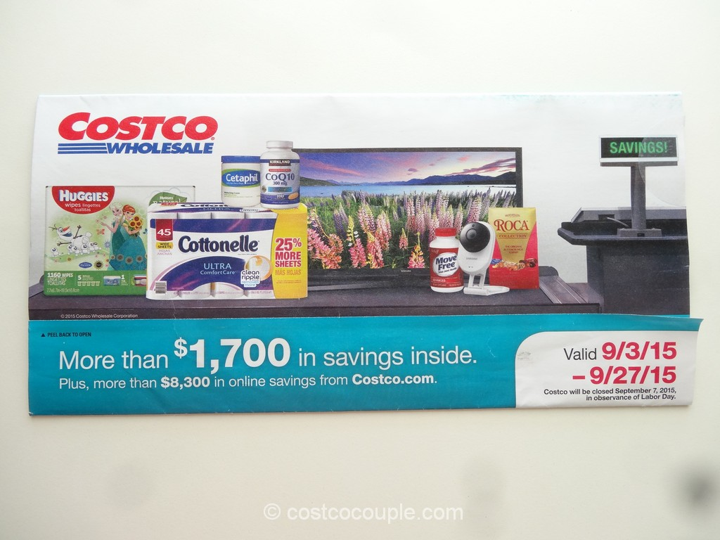 Costco Sept 2015 Coupon Book 1