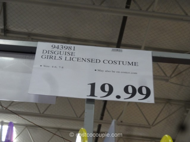 Disguise Girls Licensed Costume Costco 1