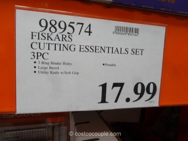 Fiskars Cutting Essentials Set Costco 1