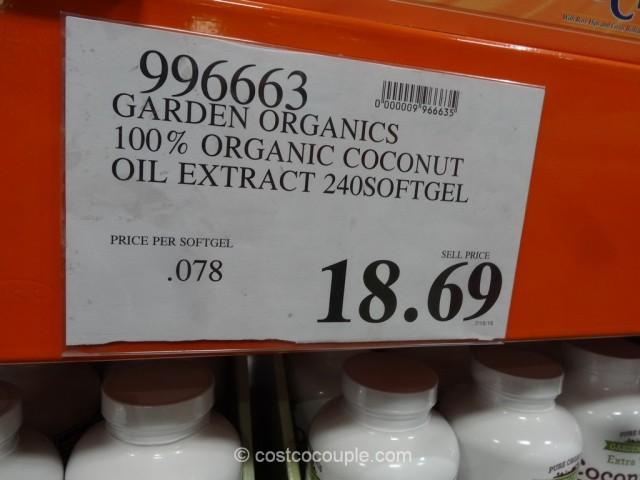 Garden Organics Organic Coconut Oil Supplement Costco 1
