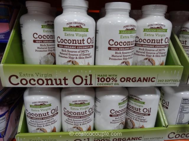 Garden Organics Organic Coconut Oil Supplement Costco 2