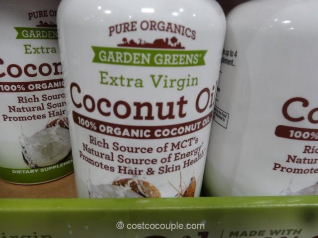Garden Organics Organic Coconut Oil Supplement Costco 3