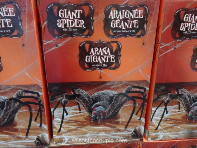 Giant Spider With LED Eyes Costco 3