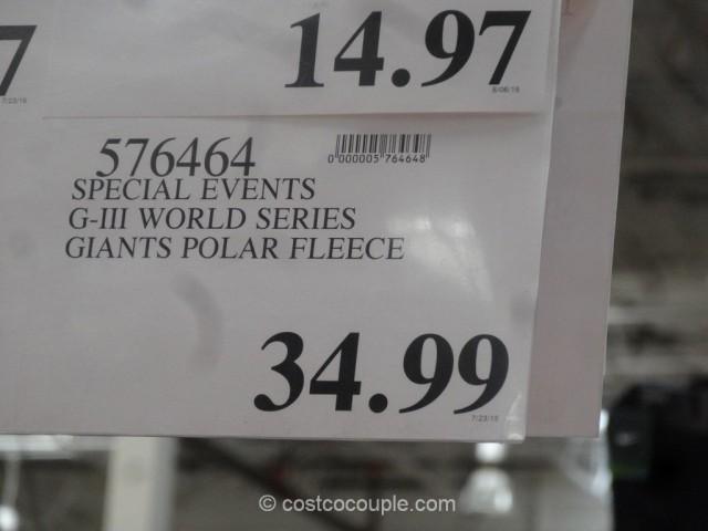 Giants Polar Fleece Jacket Costco 1