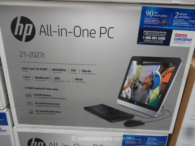 HP 21-Inch All-In-One PC Costco 4