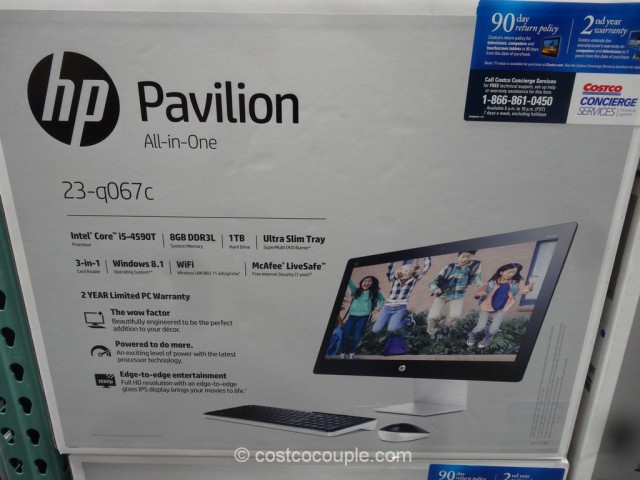 Hp 23 Inch All In One Pc Model 23 Q067c