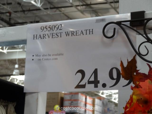 Harvest Wreath Costco 1