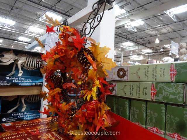 Harvest Wreath Costco 2